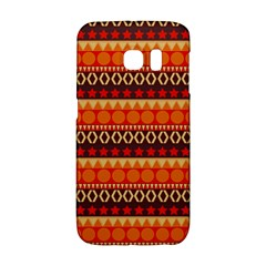 Abstract Lines Seamless Art  Pattern Galaxy S6 Edge
