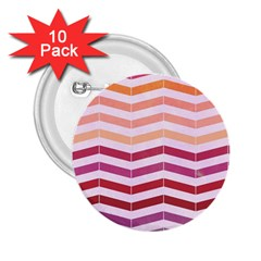 Abstract Vintage Lines 2.25  Buttons (10 pack)
