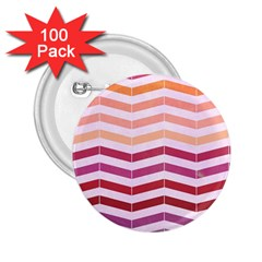 Abstract Vintage Lines 2 25  Buttons (100 Pack)