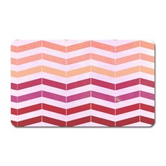 Abstract Vintage Lines Magnet (rectangular)