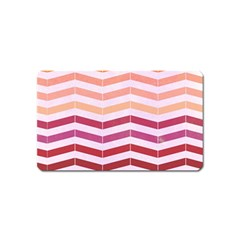 Abstract Vintage Lines Magnet (Name Card)