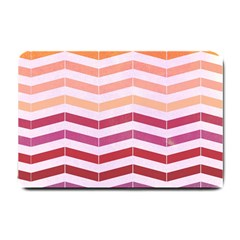 Abstract Vintage Lines Small Doormat