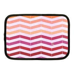 Abstract Vintage Lines Netbook Case (medium)