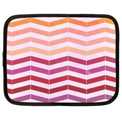 Abstract Vintage Lines Netbook Case (large)