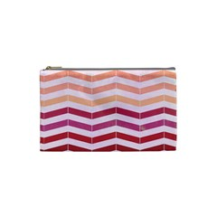 Abstract Vintage Lines Cosmetic Bag (Small)