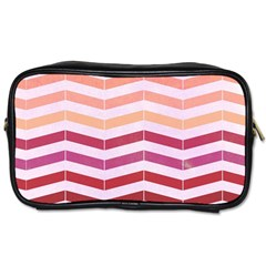 Abstract Vintage Lines Toiletries Bags