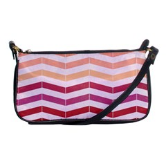 Abstract Vintage Lines Shoulder Clutch Bags