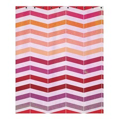 Abstract Vintage Lines Shower Curtain 60  X 72  (medium)