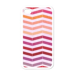 Abstract Vintage Lines Apple Iphone 4 Case (white)