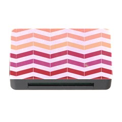 Abstract Vintage Lines Memory Card Reader With Cf