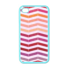 Abstract Vintage Lines Apple iPhone 4 Case (Color)