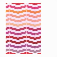 Abstract Vintage Lines Small Garden Flag (two Sides)