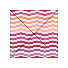Abstract Vintage Lines Acrylic Tangram Puzzle (4  X 4 )