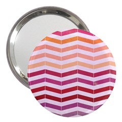 Abstract Vintage Lines 3  Handbag Mirrors