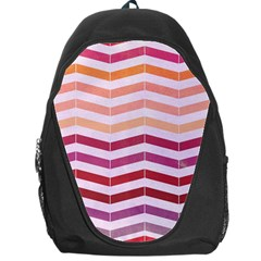 Abstract Vintage Lines Backpack Bag