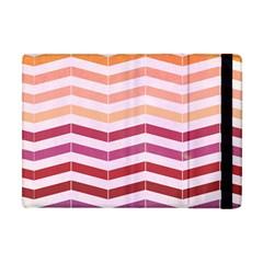 Abstract Vintage Lines Apple Ipad Mini Flip Case