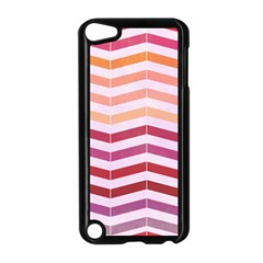 Abstract Vintage Lines Apple Ipod Touch 5 Case (black)