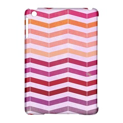 Abstract Vintage Lines Apple Ipad Mini Hardshell Case (compatible With Smart Cover)