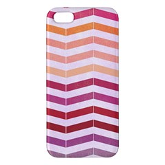 Abstract Vintage Lines Apple Iphone 5 Premium Hardshell Case