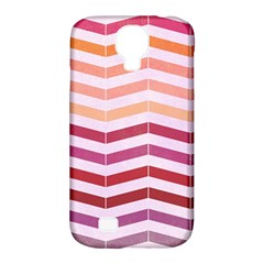 Abstract Vintage Lines Samsung Galaxy S4 Classic Hardshell Case (pc+silicone)