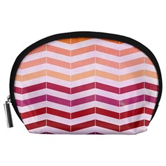 Abstract Vintage Lines Accessory Pouches (Large)