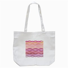Abstract Vintage Lines Tote Bag (white)