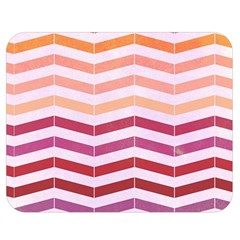 Abstract Vintage Lines Double Sided Flano Blanket (medium)