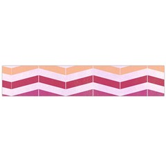 Abstract Vintage Lines Flano Scarf (Large)