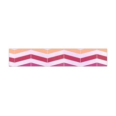 Abstract Vintage Lines Flano Scarf (mini)