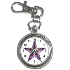 Star Abstract Geometric Art Key Chain Watches