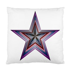Star Abstract Geometric Art Standard Cushion Case (one Side)