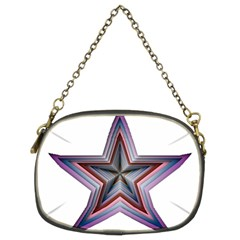 Star Abstract Geometric Art Chain Purses (two Sides)