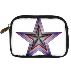 Star Abstract Geometric Art Digital Camera Cases