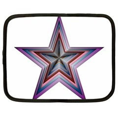Star Abstract Geometric Art Netbook Case (XL)