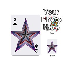Star Abstract Geometric Art Playing Cards 54 (mini)