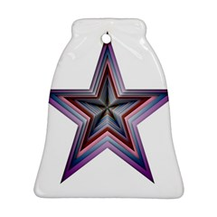 Star Abstract Geometric Art Ornament (bell)