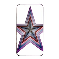 Star Abstract Geometric Art Apple Iphone 4/4s Seamless Case (black)