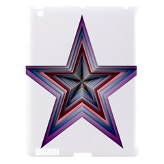 Star Abstract Geometric Art Apple Ipad 3/4 Hardshell Case (compatible With Smart Cover)