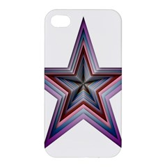 Star Abstract Geometric Art Apple Iphone 4/4s Premium Hardshell Case