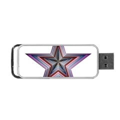 Star Abstract Geometric Art Portable Usb Flash (two Sides)
