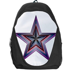 Star Abstract Geometric Art Backpack Bag