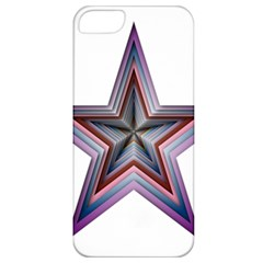 Star Abstract Geometric Art Apple iPhone 5 Classic Hardshell Case