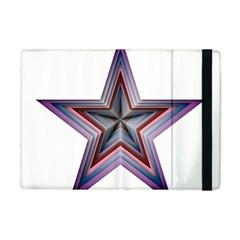Star Abstract Geometric Art Apple Ipad Mini Flip Case