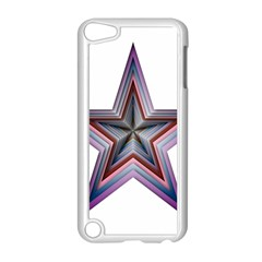 Star Abstract Geometric Art Apple Ipod Touch 5 Case (white)