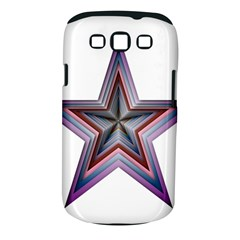 Star Abstract Geometric Art Samsung Galaxy S Iii Classic Hardshell Case (pc+silicone)
