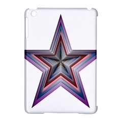 Star Abstract Geometric Art Apple iPad Mini Hardshell Case (Compatible with Smart Cover)