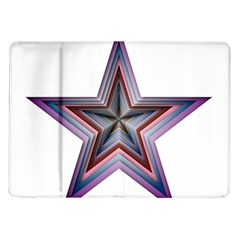 Star Abstract Geometric Art Samsung Galaxy Tab 10 1  P7500 Flip Case