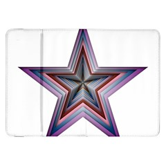Star Abstract Geometric Art Samsung Galaxy Tab 8 9  P7300 Flip Case
