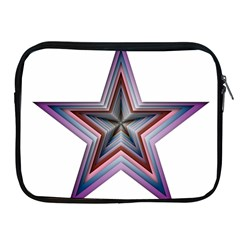 Star Abstract Geometric Art Apple Ipad 2/3/4 Zipper Cases