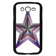 Star Abstract Geometric Art Samsung Galaxy Grand Duos I9082 Case (black)